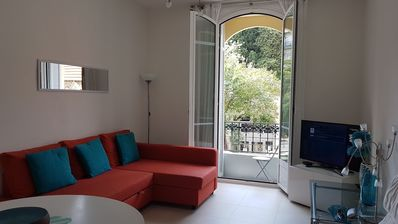 Photo for Beautiful Apartment in Central Nice  - Only 400m from the beach!