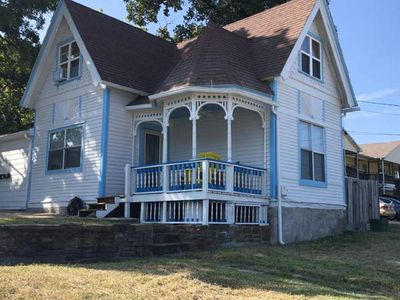Photo for Victorian w/ Private Driveway, Walk to Nature/Bike Trail, University, Dickson St