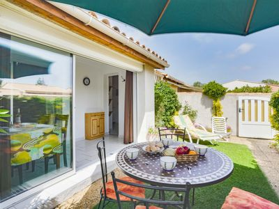 Photo for 2 bedroom Villa, sleeps 4 in Le Cap D'Agde with Pool, Air Con and WiFi