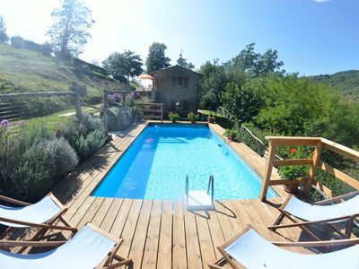 Photo for 2BR Farmhouse Vacation Rental in Sorana, Tuscany