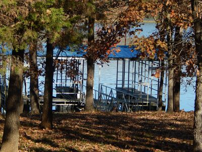 Photo for Lake Dardanelle Getaway with Private Dock