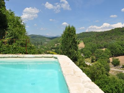 Photo for The Tilleul villa in Provence in the Luberon with pool in Oppedette