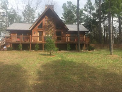 Photo for Swiftwater - Secluded Log Cabin
