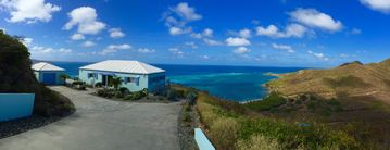 Featured on HGTV's Caribbean Life. Horizon views with almost 4 acres of privacy.