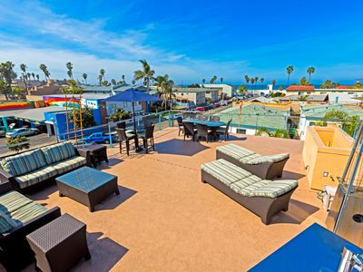 20% OFF JUNE - Condo in the Heart of OB w/ Rooftop Deck & Ocean Views!