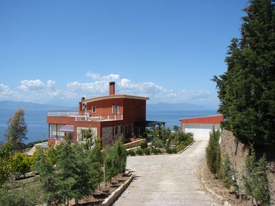 Photo for Charming, quiet villa with sea views