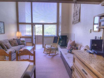 Photo for Classic Vail Condo with Grand Mountain View, Loft | Homestake A306