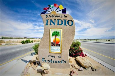 Welcome to Indio, CA - City of Festivals...and more!
