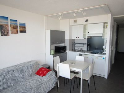 Photo for Apartment 4 people with ocean view, Lacanau Ocean