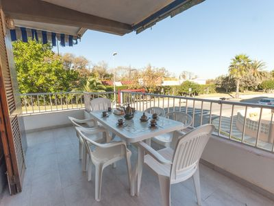 Photo for COTTON - Apartment with terrace in Playa de Oliva.
