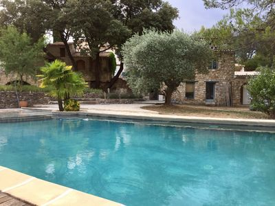 Photo for Stuning Fully Renovated Provencal Farmhouse Of 18th Century With Swimming Pool