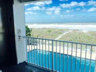 Photo for 2BR,2BA DIRECT OCEAN and BEACH FRONT Updated Condo with POOL!FREE WI FI