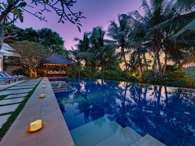 Photo for LUXURY STAY AT ONE OF CANGGU'S MOST ICONIC VILLAS