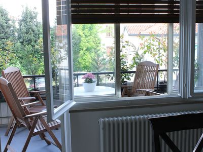 Photo for Spacious and luminous apartment a stone's throw from the center and 25 minutes from Venice