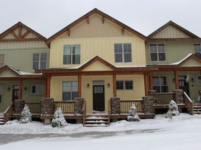 Photo for Black Bear Crossing 19- Hot Tub, Fireplace, Close to Beginner Slopes!