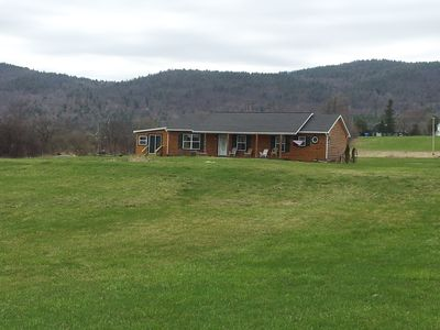 Photo for Waterfront Ranch with Dock and private recreational area on Lake George Sleep 12