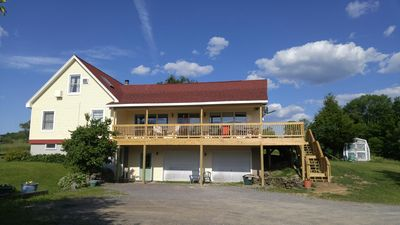 Photo for Cooperstown Baseball Families - great location, gorgeous views, wrap-around deck