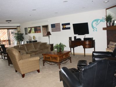 Photo for Location and Open! 2/2 Sleeps 6. One Block From Main St, Peak 9 And 4 O'clock Ru