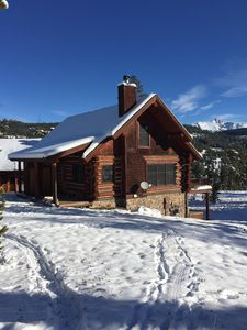 Photo for Ski-In/Ski-Out Powder Ridge Cabin In Beautiful Big Sky