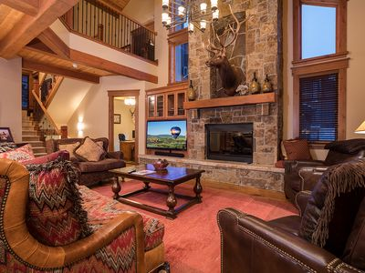 Photo for Huge family retreat w/ private hot tub, theater room & ideal location near lifts