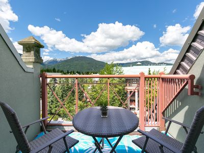 Photo for From $99/night Whistler Village Alpenglow POOL hot tub gym SAUNA