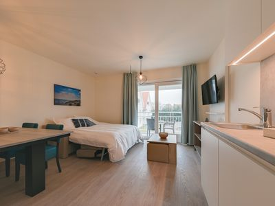 Photo for Modern apartment in Nieuwpoort