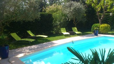Photo for Old Mas in Provence with swimming pool