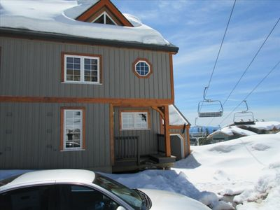 Photo for Upscale Townhouse at Village Center with Ski in/out Access.