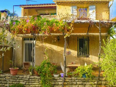 Photo for Semi-detached house, Maubec  in Vaucluse - 6 persons, 3 bedrooms