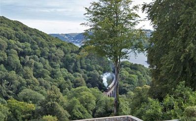 Photo for Your Own River View and Steam Train at the Bottom of Your Garden