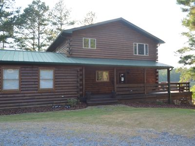 Photo for Large Log Cabin near Village of Pinehurst and Foxfire
