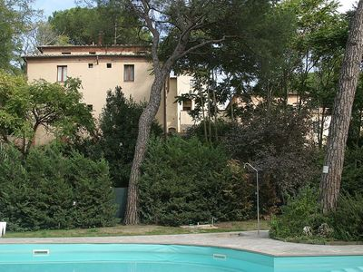 Photo for Villa Davide F: An elegant apartment surrounded by the greenery, with Free WI-FI.