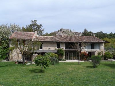 Photo for Mansion in the natural park of Luberon and deep Provence.