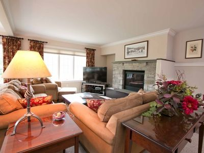 Photo for Luxury Topnotch Overlook Resort Home with Mt. Mansfield views! Sleeps 8 with entertainment floor!