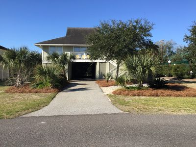 Photo for Isle of Palms beach house next to pool / tennis court with Ocean view
