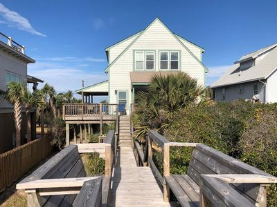 Book Now & get $250 Beach Gear Credit! Oceanfront with Private Boardwalk