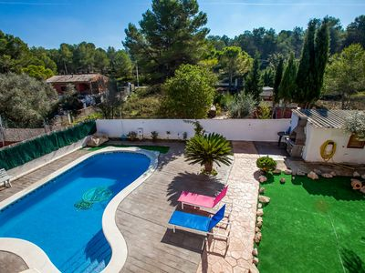 Photo for Vacation home Las Palmeras in Canyelles - 10 persons, 4 bedrooms
