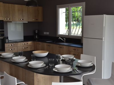 Photo for Villa T4 new 6 pers for holidays with friends or family