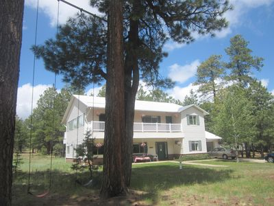 Photo for THE ASPEN  - Beautiful Cabin for Rent in Forest Lakes, Arizona