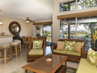 Photo for Mauna Lani Golf Villas K5 - Relax with views of Mauna Kea - 3 Bedroom Villa!!