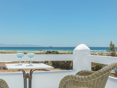 Photo for Depis Sea Side Elegant villa with sea view-3 bedroom/Naxos