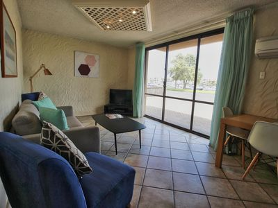 Photo for Marina frontage 2BR w/Free WIFI