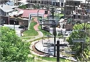 Aerial view of town lift (5 minute walk)