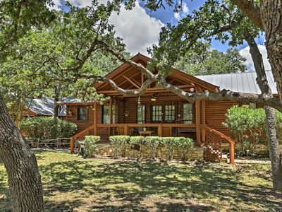 Photo for 2 Canyon Lake Cabins - 3BR Total - on 2.7 Acres!