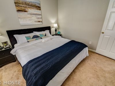 Photo for 1BR Downtown Townhome   King Bed, 5 Min to Shops