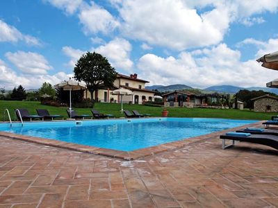 Photo for 8 bedroom Villa, sleeps 17 in Ponte a Poppi with Pool and WiFi
