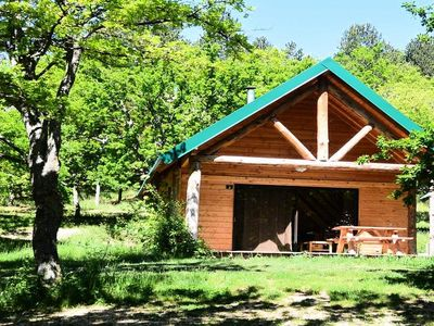 Photo for Camping Huttopia South Ardèche *** - Shack 3 Rooms 4/6 People