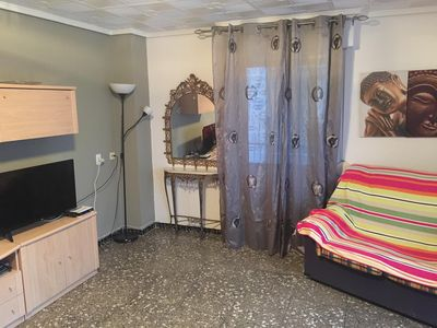 Photo for EXOTIC HOLIDAYS TO ESCAPE AND RELAX IN ALICANTE .WIFFI. 3 ROOMS
