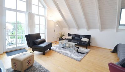 Photo for Loft apartment with 3 bedrooms just outside Munich near the airport!