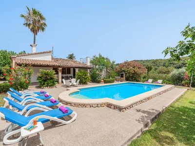 Photo for Can Berenguer-This Villa is close to local amenities has WI-FI & a private pool